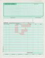 Cheque Póliza Duplicado tamaño carta