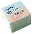 Paq. con 600 hojas papel colores pastel