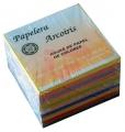 Paq. con 600 hojas papel colores fuertes