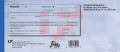 Block de Documentos en papel seguridad Pagaré Mercantil