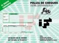Cheque Póliza Autocopiable (Comodita)