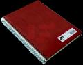 Cuaderno pasta dura c/espiral Kraft Artesanal
